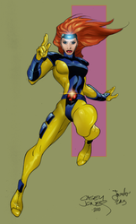 Jean Grey Color by melies