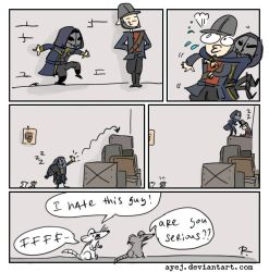 dishonored, doodles 57 by Ayej