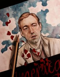 Kevin Spacey - American beauty , detail  by lucyana12345