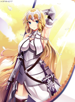 Jeanne d'arc (fate grand order) by kirin27