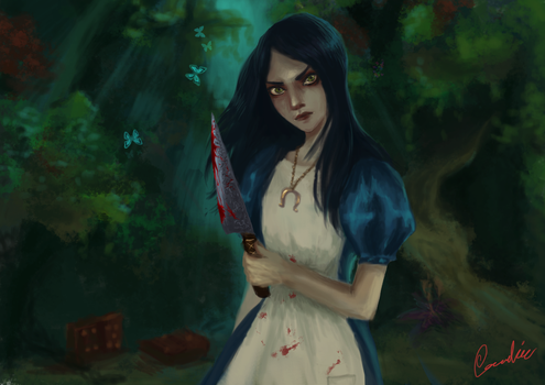 alice madness returns by carr0w