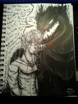 These Words Can Leaves These Scars [Vent]  by CandySugarSkullGirl9