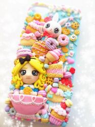 Kawaii iPhone 5\5S case -Alice in Candyland- by Do by SweetDollyHouse