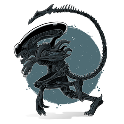 Xenomorph by Miguelhan