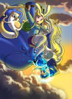 Adventure Time: Fionna Color by SemajZ