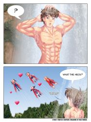 Comic: Ryu's Nature Shower by Agu-Fungus