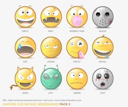 AVATARS PACK1 by uriel