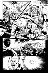 Warhammer 40,000 #11 pages by Spacefriend-T