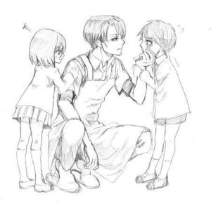 Our Family (Daddy!Levi x Mommy!reader) by Venulus on DeviantArt