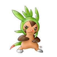 Chespin by l-Helix-l