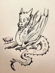 Baby Smaug by VerruckterWolf