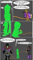 Undertale green Page 35 by FlamingReaperComic