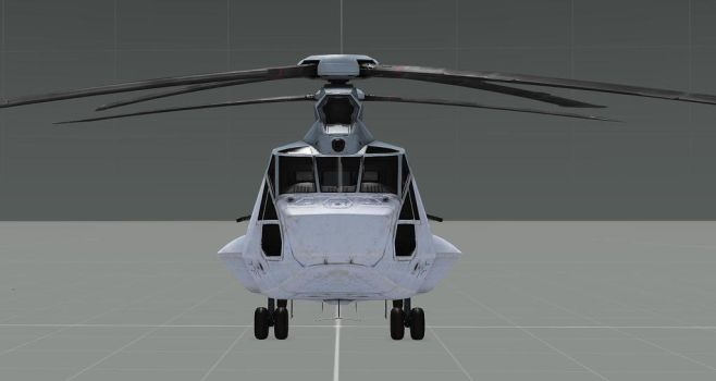 CH-67 Front View by EricJ562
