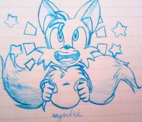 Every Sonic Needs a Tails! by SegaChick94