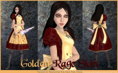 A:MR Skin - Golden Rage by EvanescentAngel666