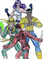 Netflix Defenders by theaven