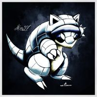 Pokemon of the Week - Alolan Sandshrew by Noyle