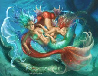 Pisces by The-SixthLeafClover