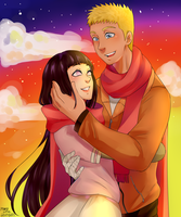 Naruhina  by littlemary08