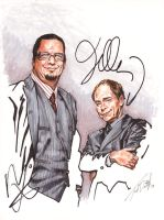 Penn and Teller - signed by tdastick