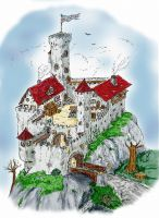 Castle by Day - Empty by blindguard