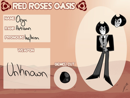 Red Rose Oasis Application: Onyx by ChataDyer