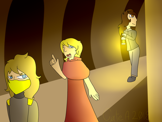 Me and 2 friends by pokemonfnaf1