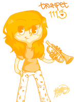 TRUMPETEERS GONNA TRUMPET by cinnamelon