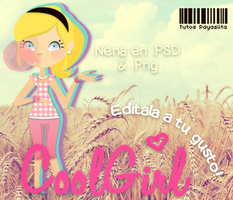 CoolGirl~PSD by Payasiita