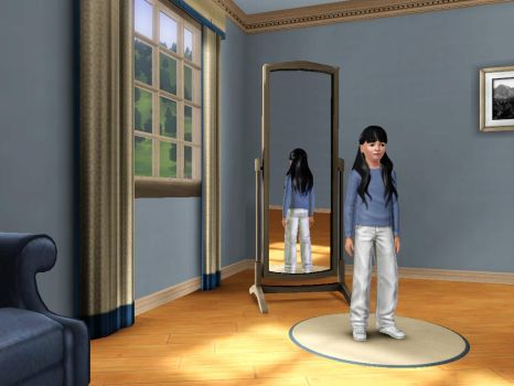 Sims 3 - Me in child form in everyday outfit 1 by Magic-Kristina-KW
