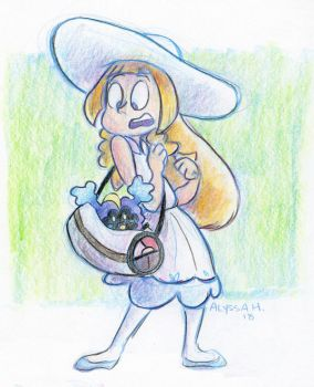 Nebby In The Bag by little-ampharos
