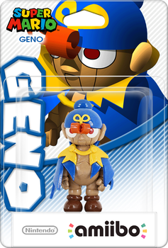 SMRPG Geno Amiibo Box Art Mockup by DarkSSJShinji