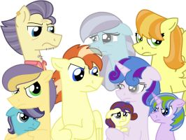 One Big Dysfunctional Family by kindheart525