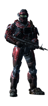 my halo reach spartan 2 by Lycan93