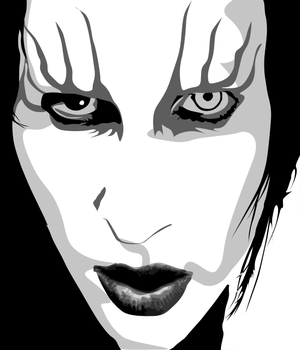 Marilyn Manson Vexel by MicheeMee