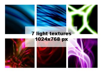 7 light textures by aaskie