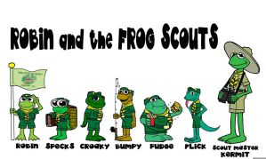 Robin and the Frog Scouts by Gonzocartooncompany