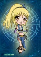 chibi lucy : new outfit and the key libra by pandora29