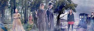 DOCTOR WHO Day of the Doctor Banner by Umbridge1986