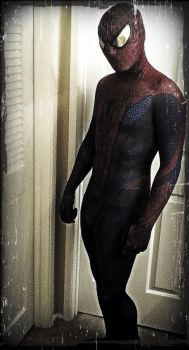 Amazing Spiderman Costume by TimDrakeRobin