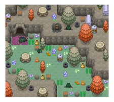 Unova Mini-Maps : 074, 75 by SimplyPixelizing