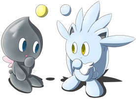 Silver Chao or Silver Chao by Zipo-Chan