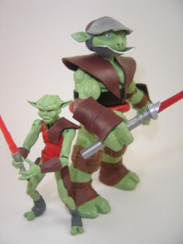 Sith Brothers Gorc and Pic Action Figures by Mandalore2525