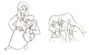 Aro + Jane sketches by sunni-sideup