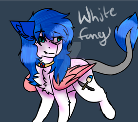 Whitefang by ARTISTwolfgirl493