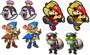 Mario Strikers - Various captains by jak99