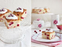 Cranberry orange cake by kupenska