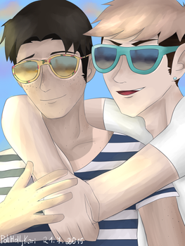 Summer with jeanmarco! by PoliMollyKari