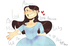 Look around Look around by DrinkingBubblesoda