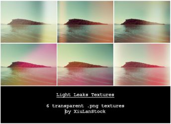 Light Leak Textures by XiuLanStock